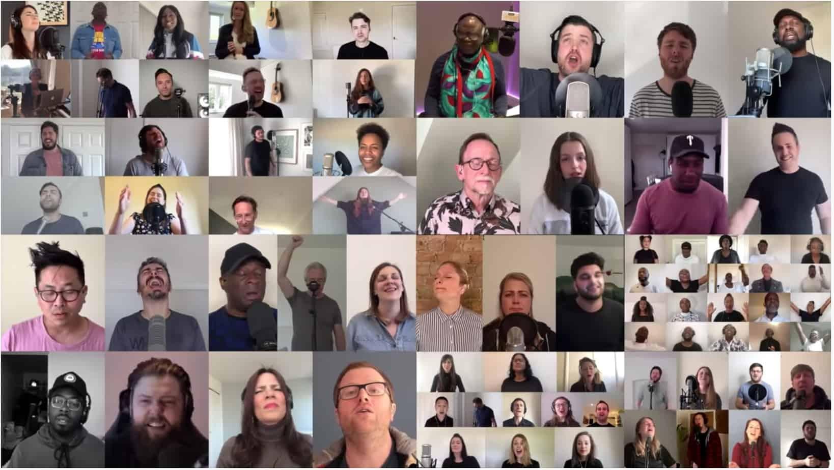 The UK Blessing heads towards 4 million views bringing hope worldwide
