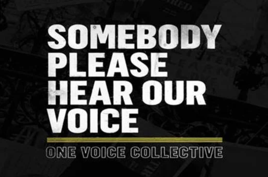 Somebody Please Hear Our Voice! Watch the new music video from One Voice Collective