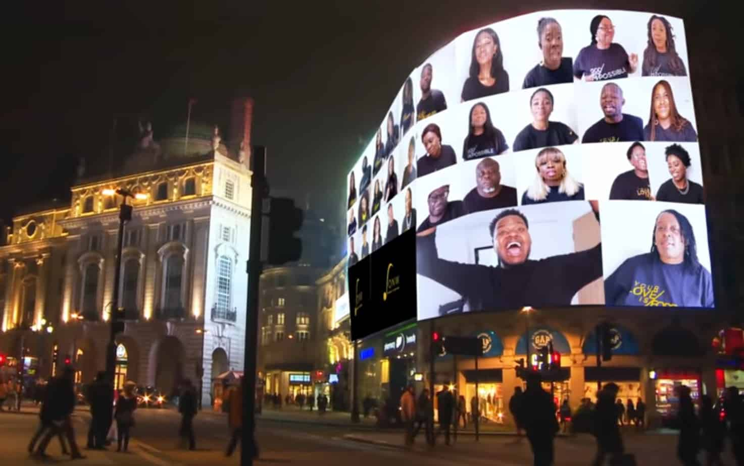 Sounds of New Wine light up London with new music video, 'Glory Be To God'